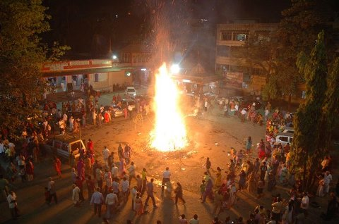 holi or shimaga  in kokan